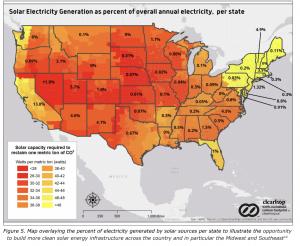 solar energy map america